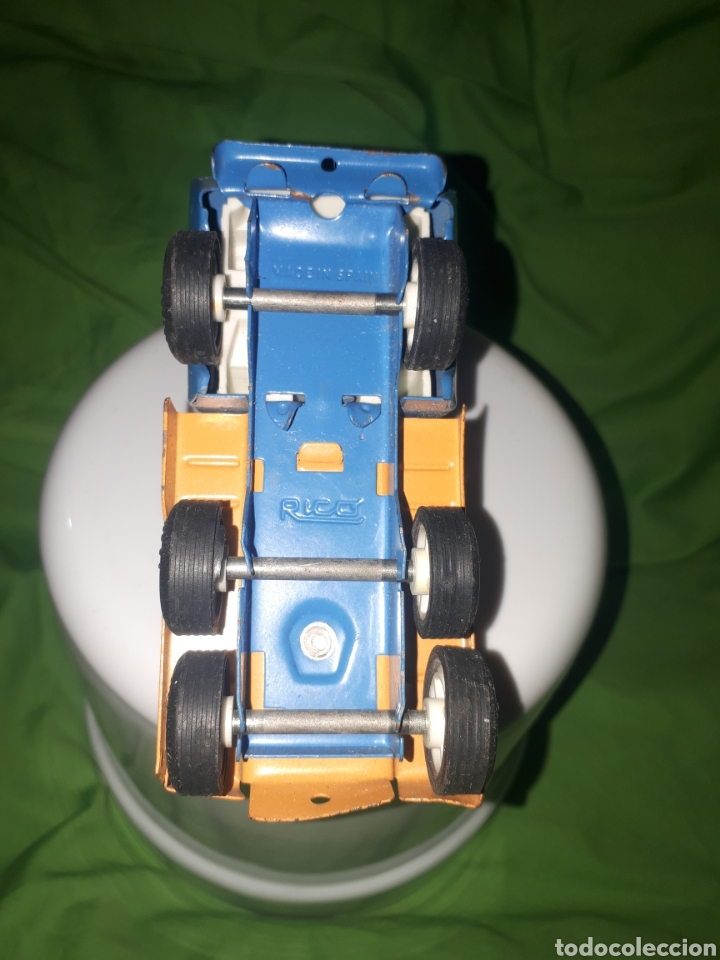 Juguetes antiguos Rico: Camion con grúa rico mini - Foto 4 - 150539145