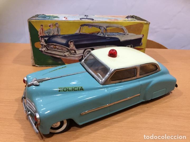 RICO AUTO SEDAN POLICIA AÑOS 50 TIPO JNF (Juguetes - Marcas Clásicas - Rico)