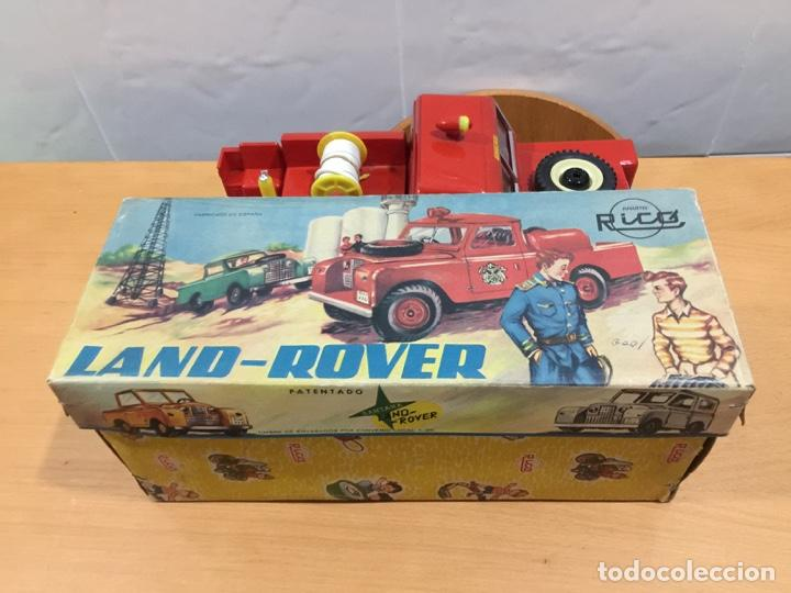 Juguetes antiguos Rico: RICO LAND ROVER VERSION BOMBEROS 1964 - Foto 19 - 150560682