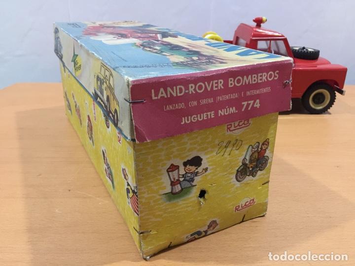 Juguetes antiguos Rico: RICO LAND ROVER VERSION BOMBEROS 1964 - Foto 22 - 150560682
