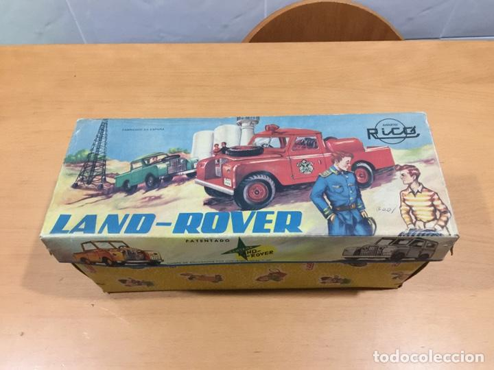 Juguetes antiguos Rico: RICO LAND ROVER VERSION BOMBEROS 1964 - Foto 24 - 150560682