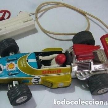 Juguetes antiguos Rico: COCHE DE CARRERAS F 1 - Foto 2 - 150591346