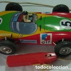 Juguetes antiguos Rico: COCHE DE CARRERAS . Lote 150591526