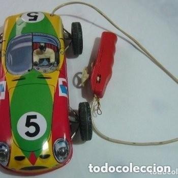 Juguetes antiguos Rico: COCHE DE CARRERAS - Foto 2 - 150591526