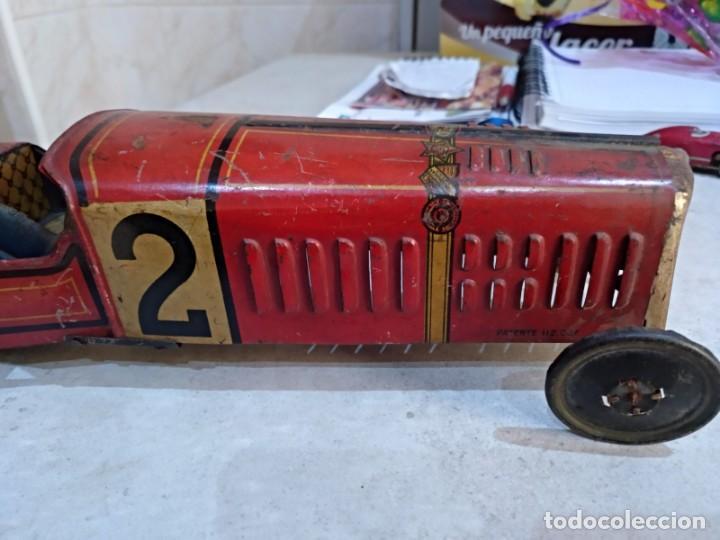 Juguetes antiguos Rico: gran bolido marca rico años 30 y cuerda - Foto 3 - 151954350