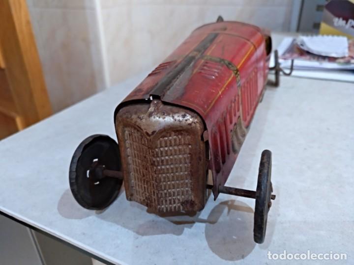 Juguetes antiguos Rico: gran bolido marca rico años 30 y cuerda - Foto 4 - 151954350
