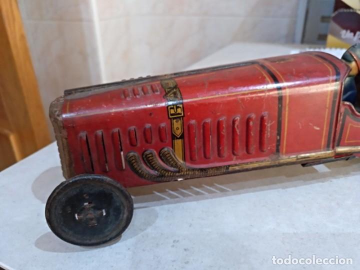 Juguetes antiguos Rico: gran bolido marca rico años 30 y cuerda - Foto 6 - 151954350