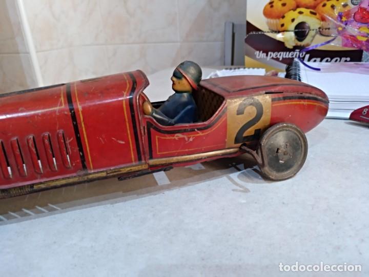 Juguetes antiguos Rico: gran bolido marca rico años 30 y cuerda - Foto 7 - 151954350