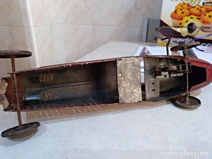 Juguetes antiguos Rico: gran bolido marca rico años 30 y cuerda - Foto 8 - 151954350