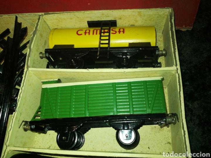 Juguetes antiguos Rico: Tren de rico. Años 60. Como se ve en las fotografias - Foto 2 - 152830909