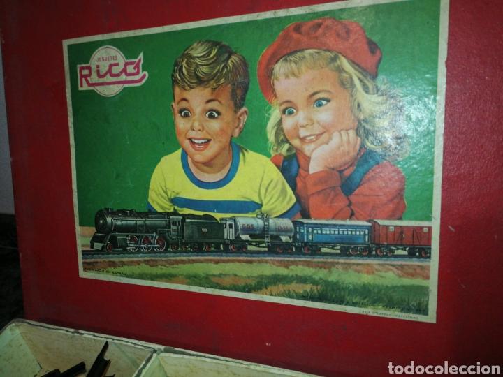 Juguetes antiguos Rico: Tren de rico. Años 60. Como se ve en las fotografias - Foto 6 - 152830909