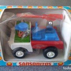 Juguetes antiguos Rico - Camión Militar Sansonitos Rico - 153118834