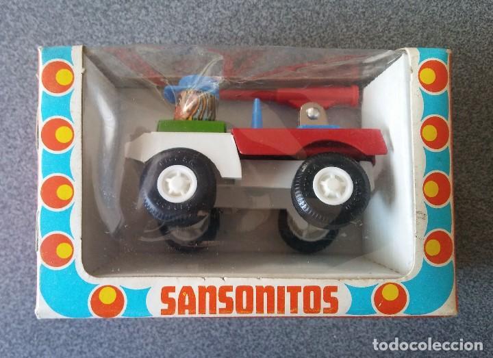 Juguetes antiguos Rico: Camión Militar Sansonitos Rico - Foto 2 - 153118834