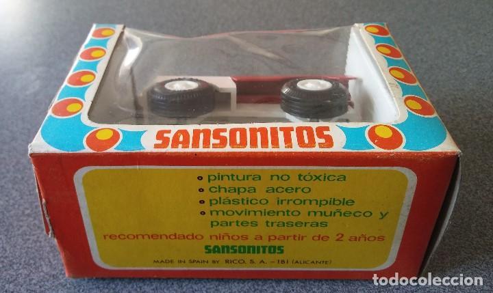 Juguetes antiguos Rico: Camión Militar Sansonitos Rico - Foto 3 - 153118834