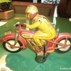 Juguetes antiguos Rico: MOTO RICO. Lote 153692378
