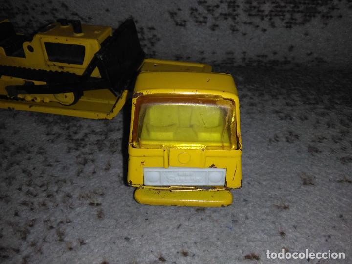 Juguetes antiguos Rico: Camión Rico Mini Sansón remolque bull dozer - Foto 2 - 154537670