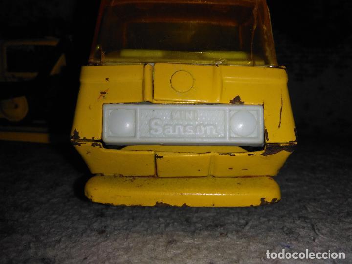 Juguetes antiguos Rico: Camión Rico Mini Sansón remolque bull dozer - Foto 3 - 154537670