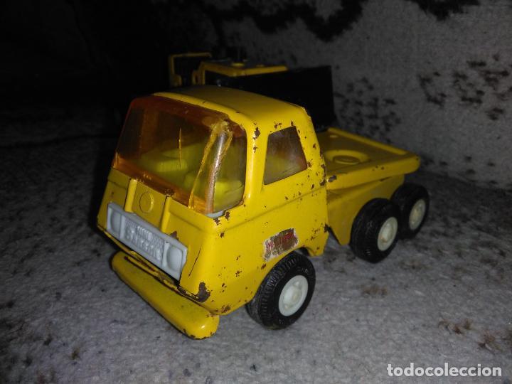 Juguetes antiguos Rico: Camión Rico Mini Sansón remolque bull dozer - Foto 4 - 154537670