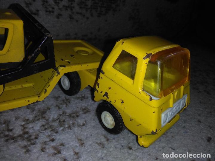 Juguetes antiguos Rico: Camión Rico Mini Sansón remolque bull dozer - Foto 5 - 154537670