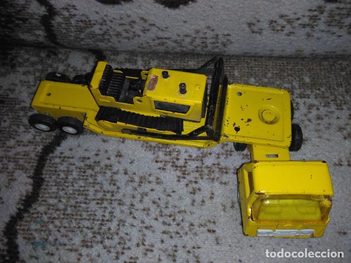 Juguetes antiguos Rico: Camión Rico Mini Sansón remolque bull dozer - Foto 6 - 154537670