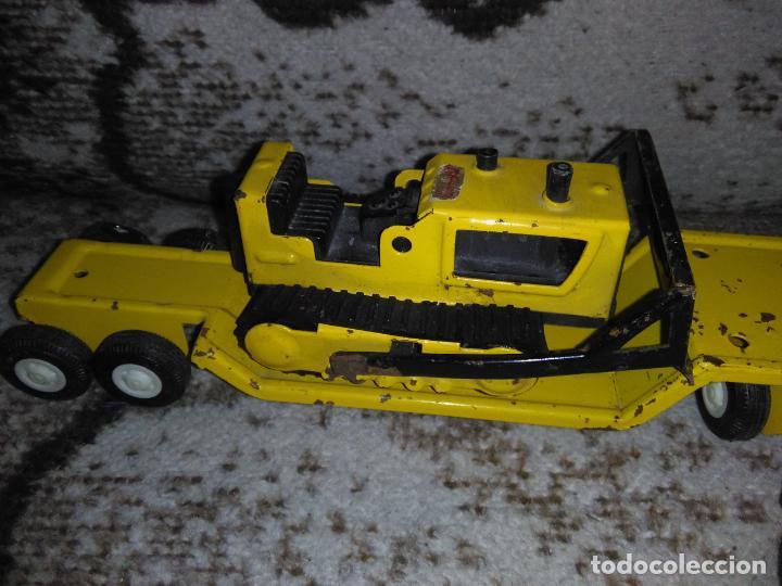 Juguetes antiguos Rico: Camión Rico Mini Sansón remolque bull dozer - Foto 7 - 154537670