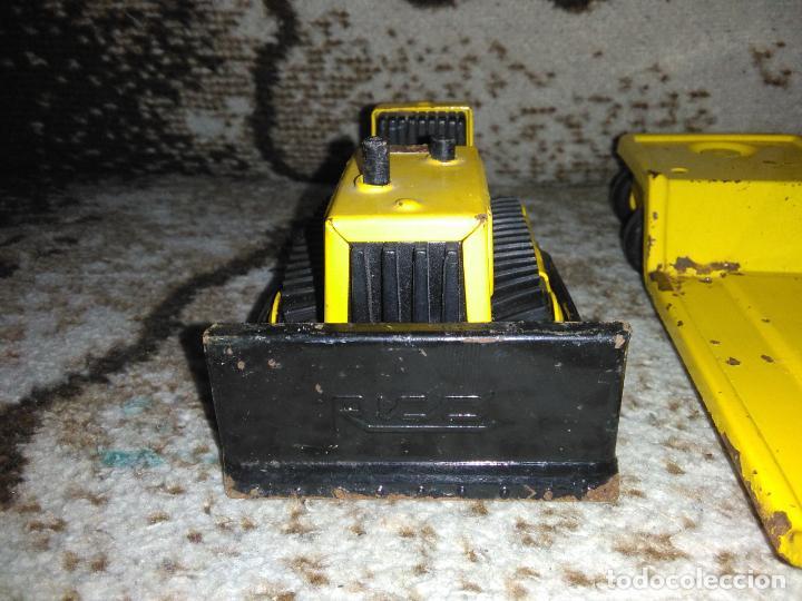 Juguetes antiguos Rico: Camión Rico Mini Sansón remolque bull dozer - Foto 11 - 154537670