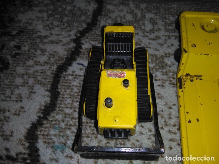 Juguetes antiguos Rico: Camión Rico Mini Sansón remolque bull dozer - Foto 12 - 154537670