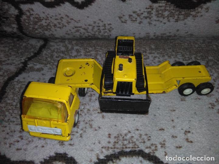 Juguetes antiguos Rico: Camión Rico Mini Sansón remolque bull dozer - Foto 16 - 154537670