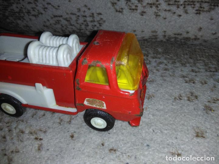 Juguetes antiguos Rico: Camión bomberos Rico Mini Sansón - Foto 2 - 154691966