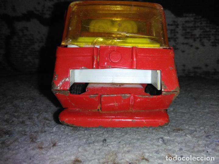 Juguetes antiguos Rico: Camión bomberos Rico Mini Sansón - Foto 4 - 154691966