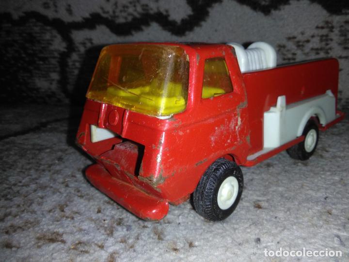 Juguetes antiguos Rico: Camión bomberos Rico Mini Sansón - Foto 5 - 154691966