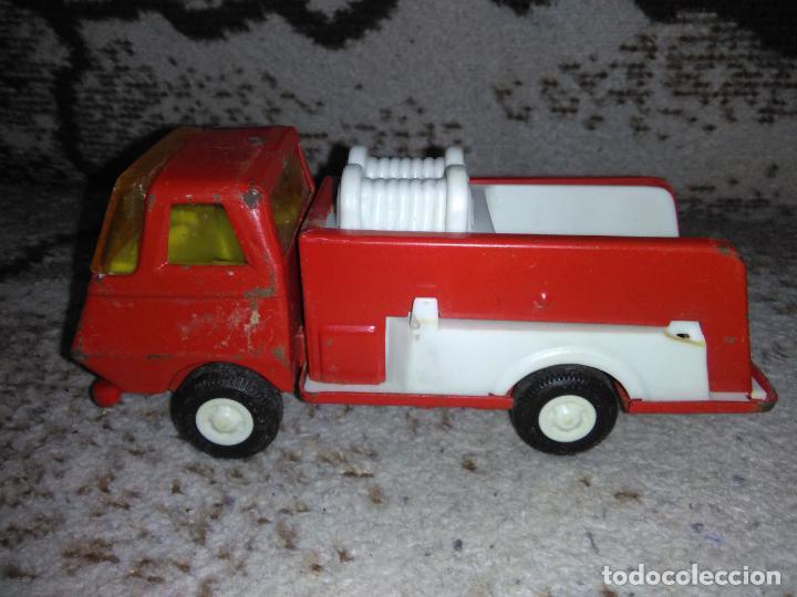 Juguetes antiguos Rico: Camión bomberos Rico Mini Sansón - Foto 6 - 154691966