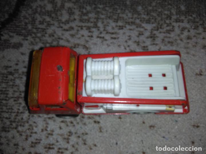 Juguetes antiguos Rico: Camión bomberos Rico Mini Sansón - Foto 7 - 154691966