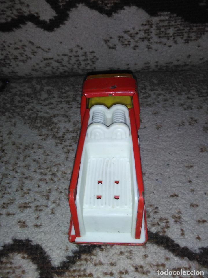 Juguetes antiguos Rico: Camión bomberos Rico Mini Sansón - Foto 10 - 154691966