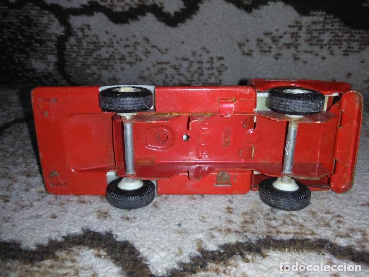 Juguetes antiguos Rico: Camión bomberos Rico Mini Sansón - Foto 11 - 154691966