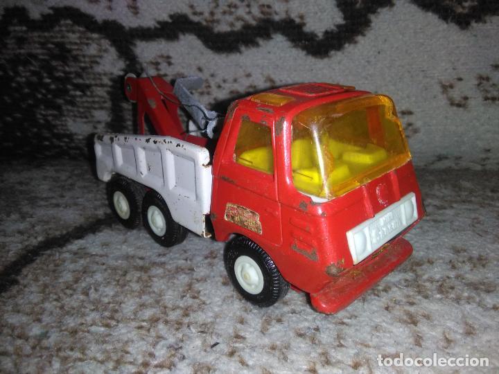 Juguetes antiguos Rico: Camión grúa Rico Mini Sansón - Foto 2 - 154713014