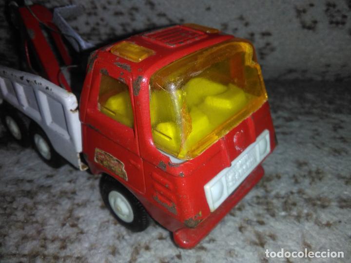 Juguetes antiguos Rico: Camión grúa Rico Mini Sansón - Foto 3 - 154713014