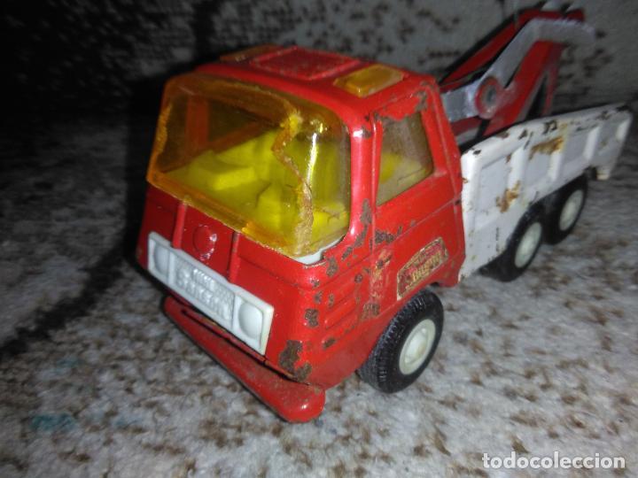 Juguetes antiguos Rico: Camión grúa Rico Mini Sansón - Foto 6 - 154713014