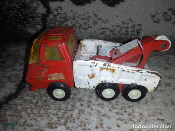 Juguetes antiguos Rico: Camión grúa Rico Mini Sansón - Foto 7 - 154713014