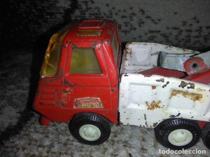 Juguetes antiguos Rico: Camión grúa Rico Mini Sansón - Foto 8 - 154713014