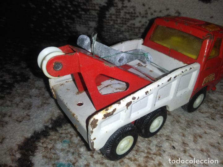 Juguetes antiguos Rico: Camión grúa Rico Mini Sansón - Foto 11 - 154713014