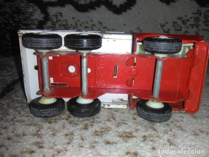 Juguetes antiguos Rico: Camión grúa Rico Mini Sansón - Foto 13 - 154713014
