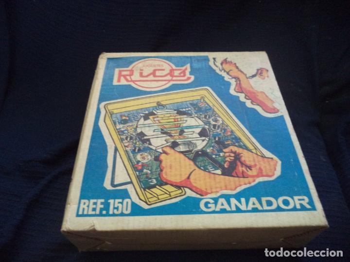 Juguetes antiguos Rico: JUGUETES RICO GANADOR REF:150 EN SU CAJA FUTBOL - Foto 2 - 154845030
