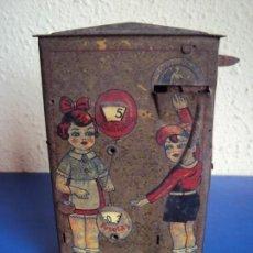 Juguetes antiguos Rico: (JU-190345) HUCHA LITOGRAFIADA RICO. Lote 154935070