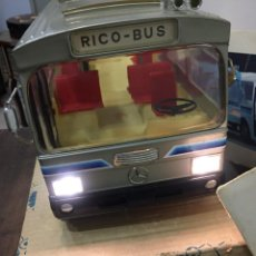 Juguetes antiguos Rico: RICO BUS CON SU CAJA. Lote 156655470