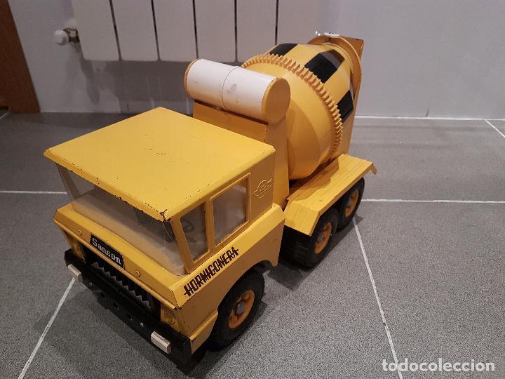 Juguetes antiguos Rico: antigua hormigonera camion sanson de rico gran tamaño ver fotos - Foto 4 - 157264298