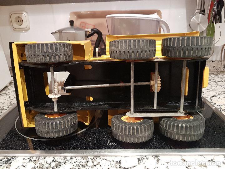 Juguetes antiguos Rico: antigua hormigonera camion sanson de rico gran tamaño ver fotos - Foto 12 - 157264298