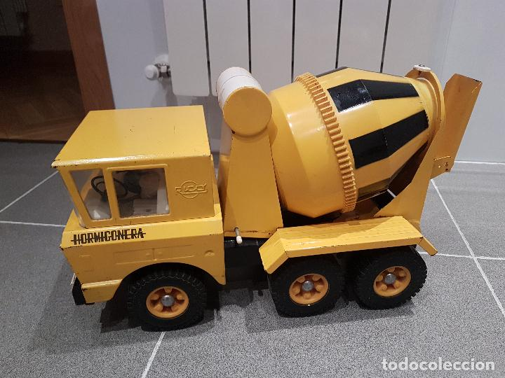 Juguetes antiguos Rico: antigua hormigonera camion sanson de rico gran tamaño ver fotos - Foto 22 - 157264298