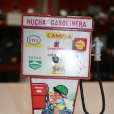 Juguetes antiguos Rico: HUCHA GASOLINERA RICO. Lote 158657142
