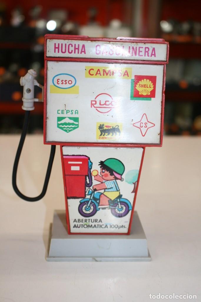 Juguetes antiguos Rico: Hucha Gasolinera Rico - Foto 4 - 158657142